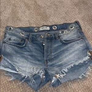 """We the free"" Denim Shorts"